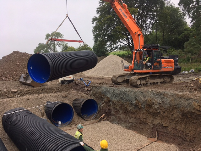 SPS Group UK - Construction of Attenuation tanks